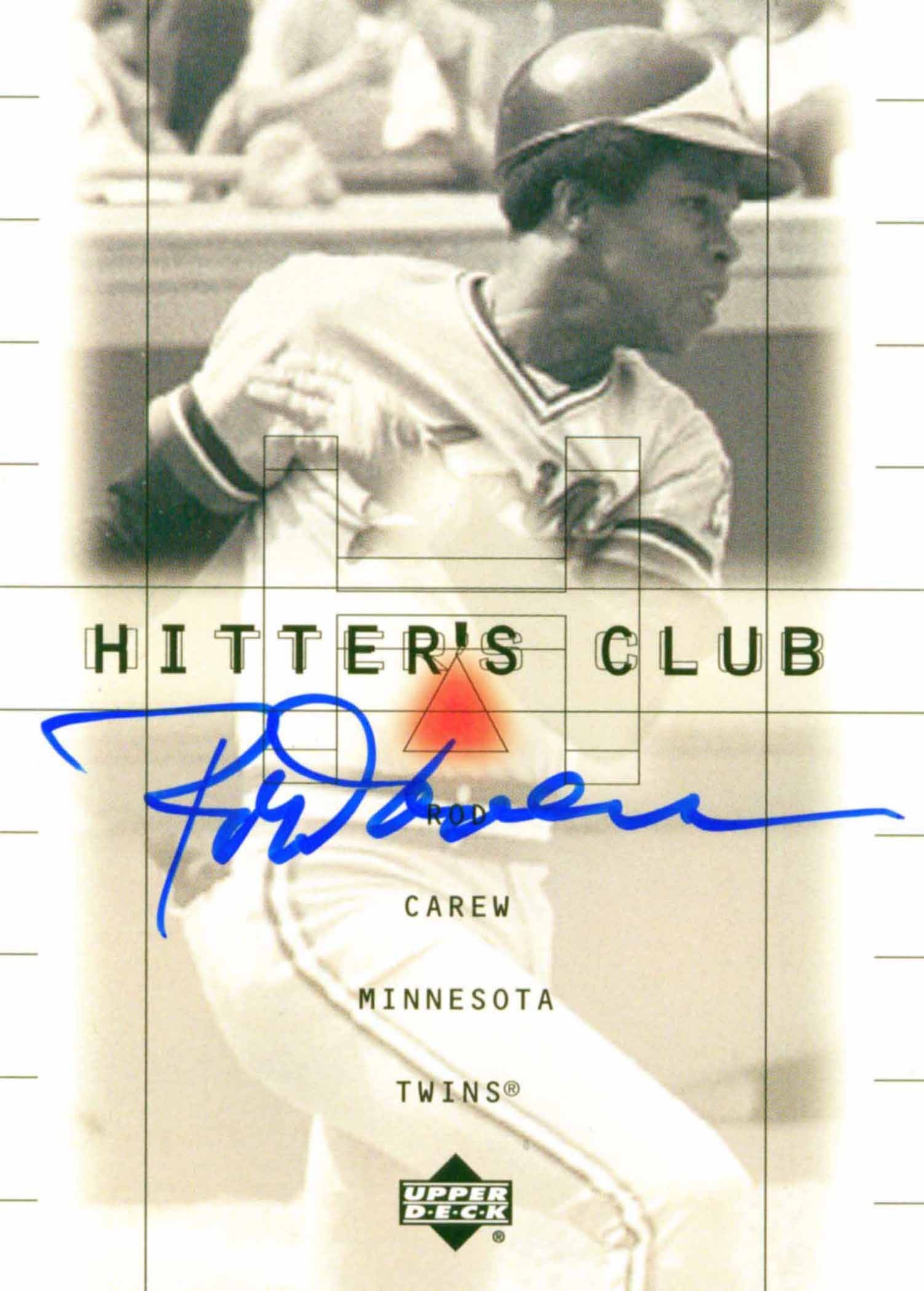 2000 Upper Deck Hitter's Club Autographs