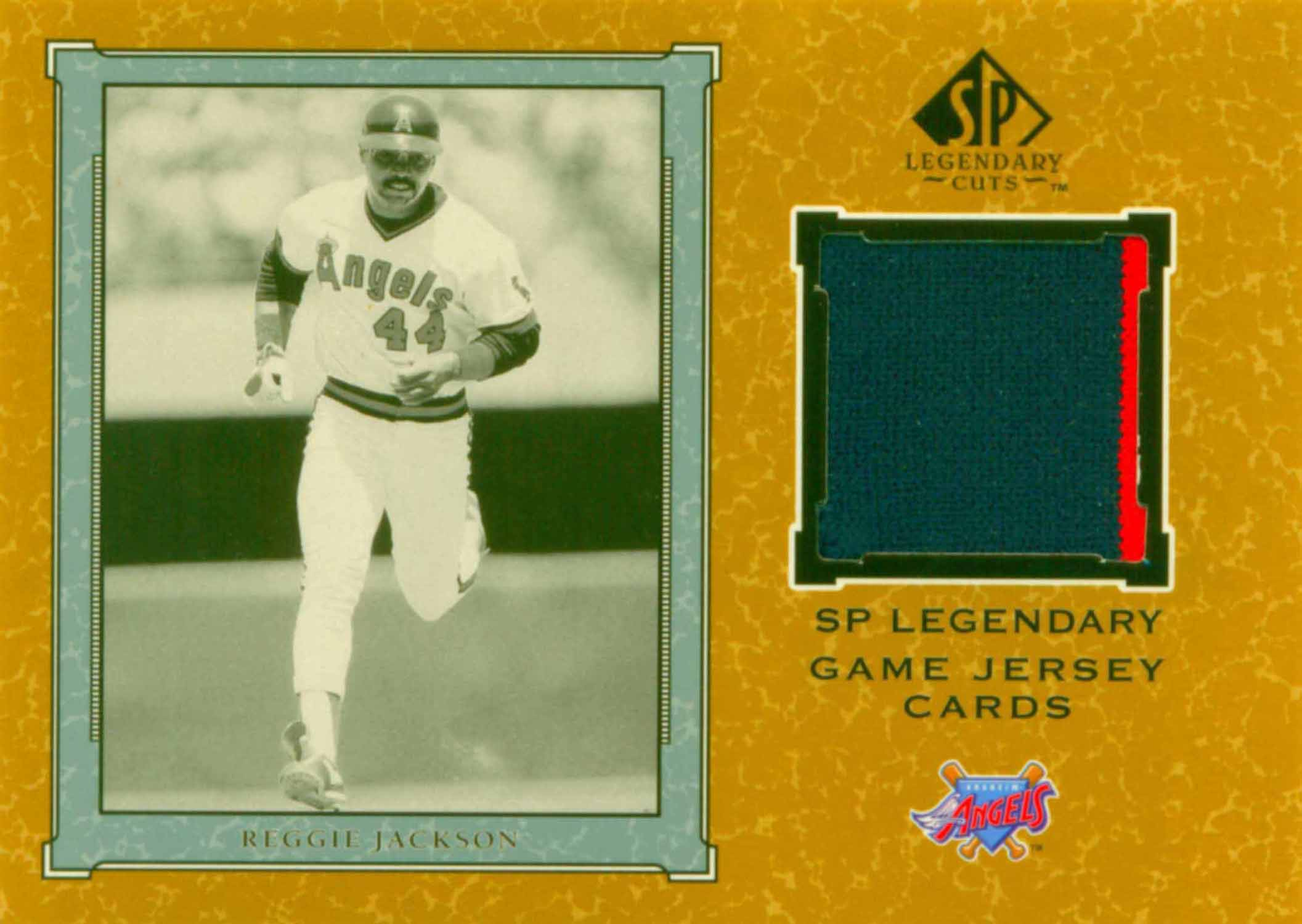 2001 SP Legendary Cuts Game Jersey