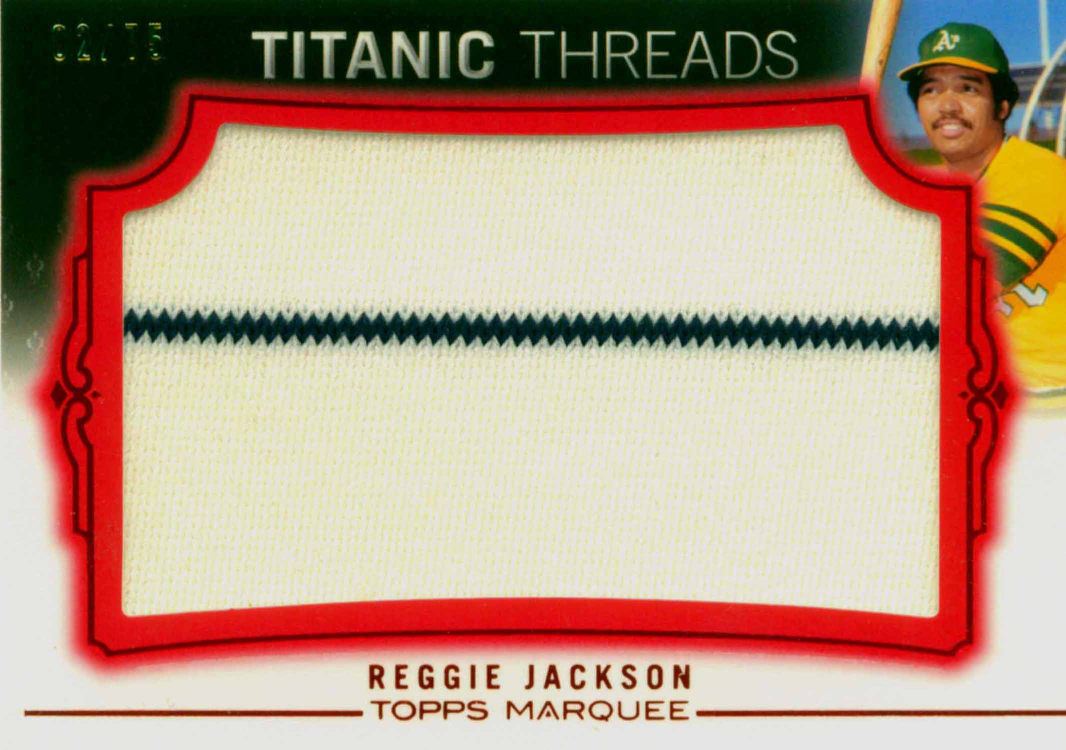 2011 Topps Marquee Titanic Threads Red