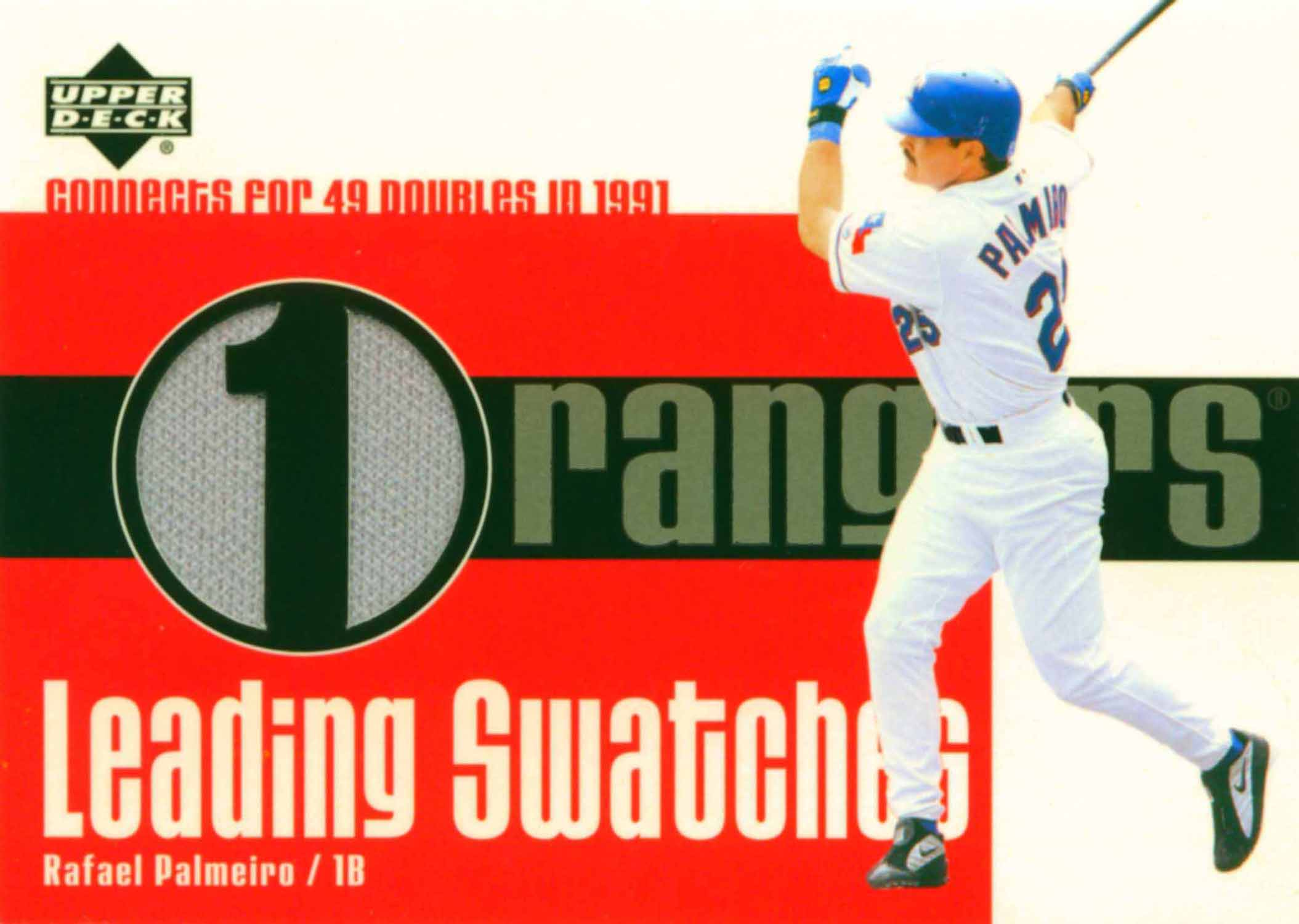 2003 Upper Deck Leading Swatches